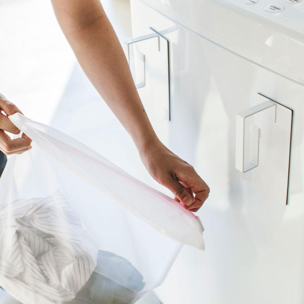マグネット洗濯ネットハンガー タワー ホワイト