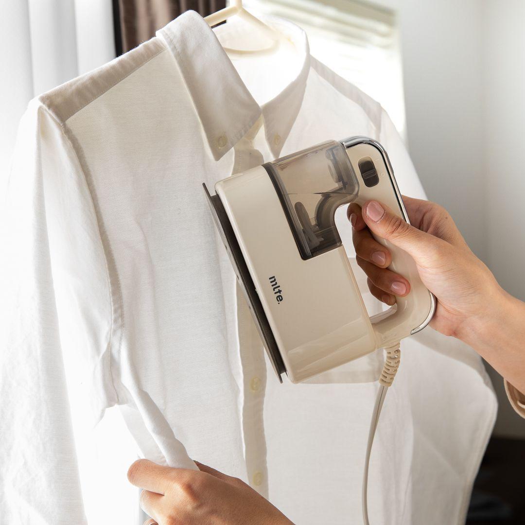 【CB JAPAN】Mlte 衣類スチーマー アイボリー