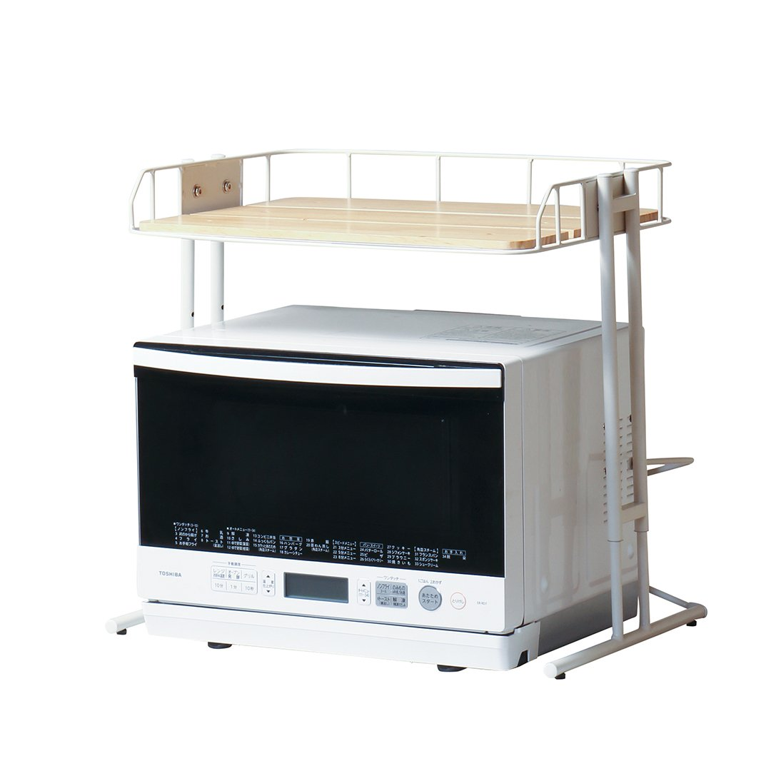 BCKR-560(WH) BY CAGE MICROWAVE RACK