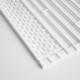 折り畳み水切り タワー  シリコーントレー付き (L)/ホワイト