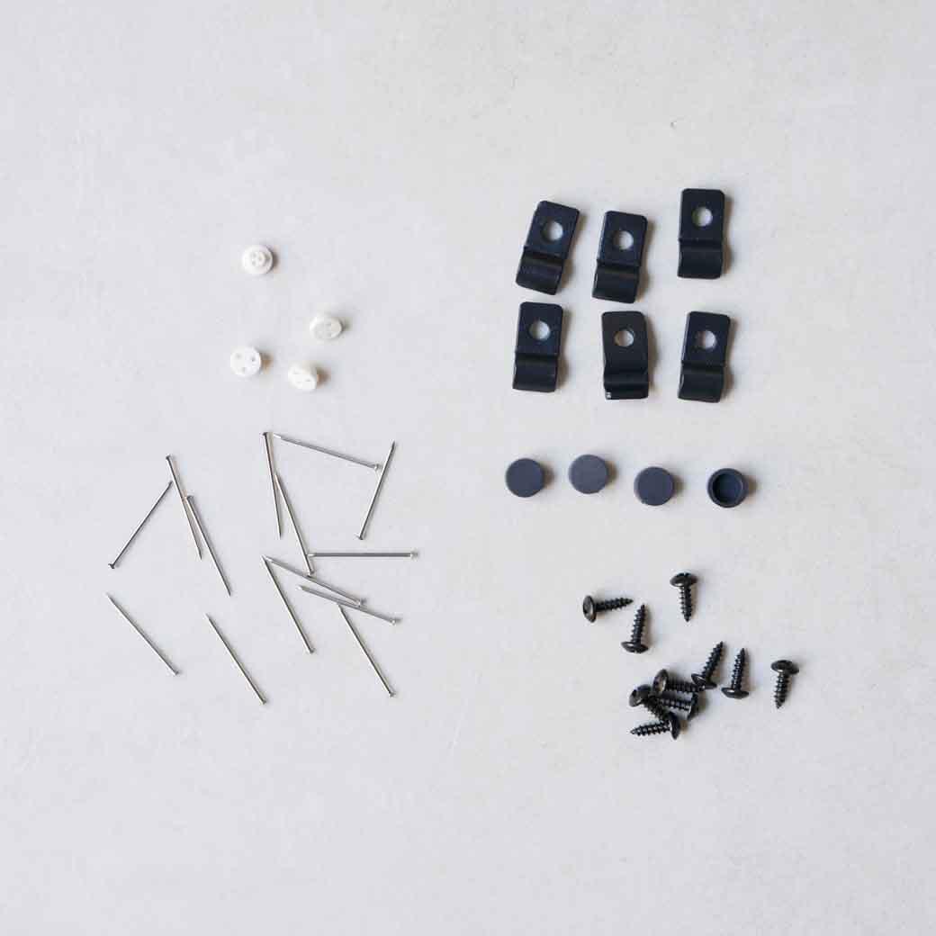シェルフフレーム4 ブラック