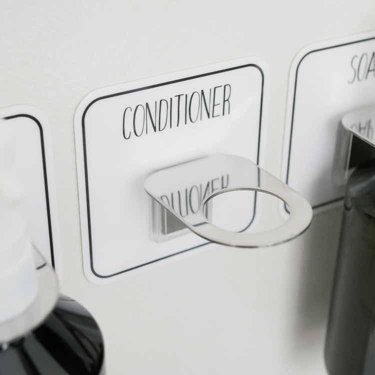 【予約販売1月下旬入荷予定】オテル ステンレス コンディショナーボトルホルダー