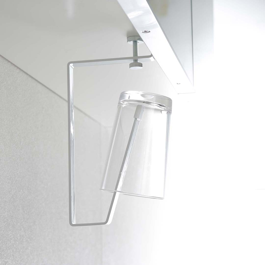 洗面戸棚下タンブラーホルダー タワー ホワイト