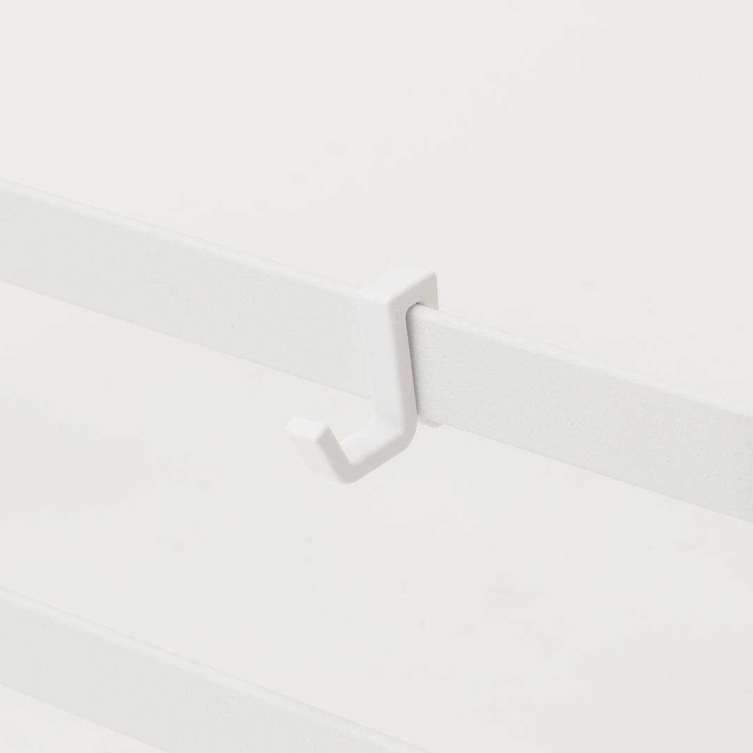 シンク扉ゴミ袋ホルダー  タオルハンガー付き  トスカ  ホワイト