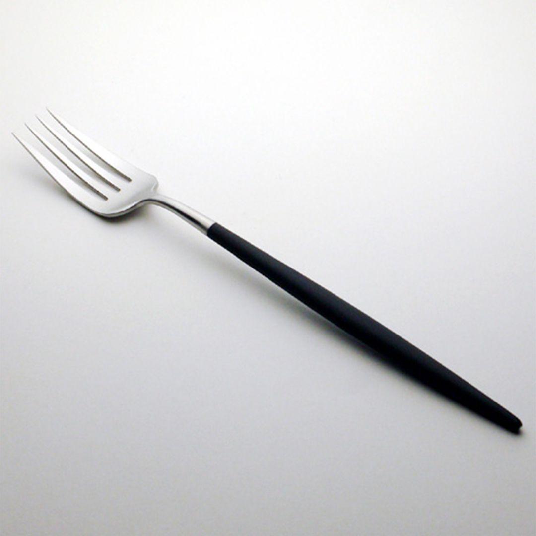 【予約販売3月入荷予定】【Cutipol】GOA ディナーフォーク/ブラック