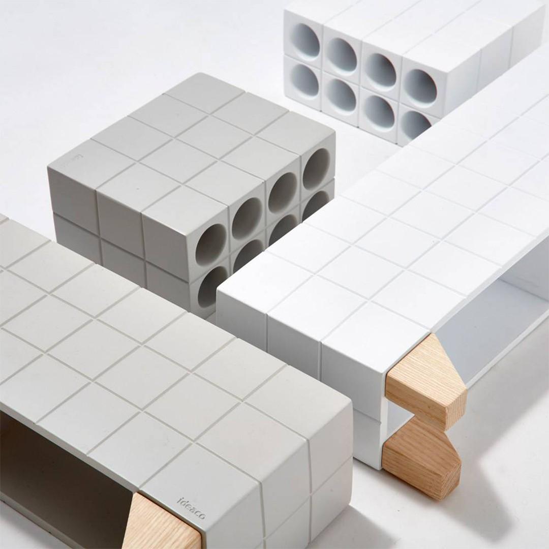 【Block】アンブレラスタンド ホワイト