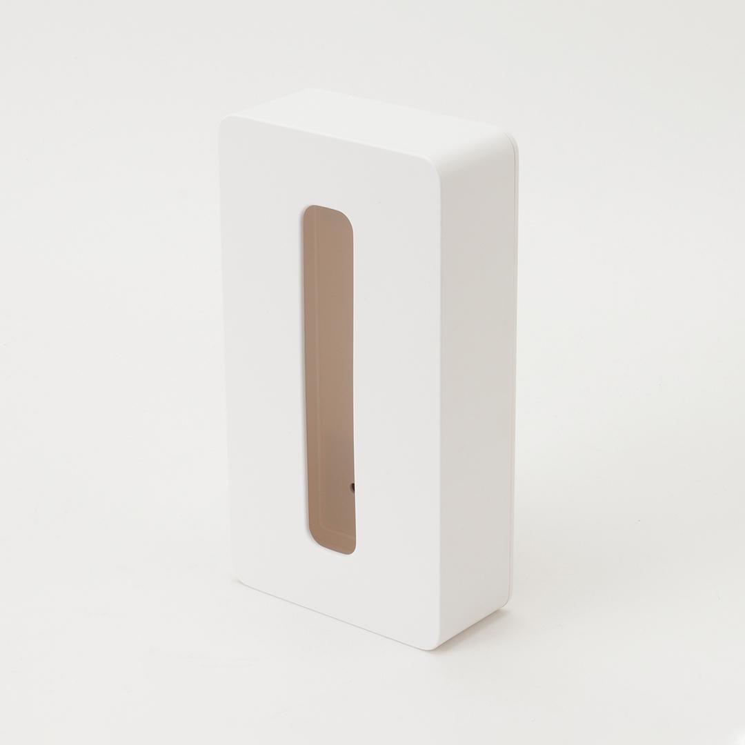 【tower】マグネットコンパクトティッシュケース  タワー  ホワイト
