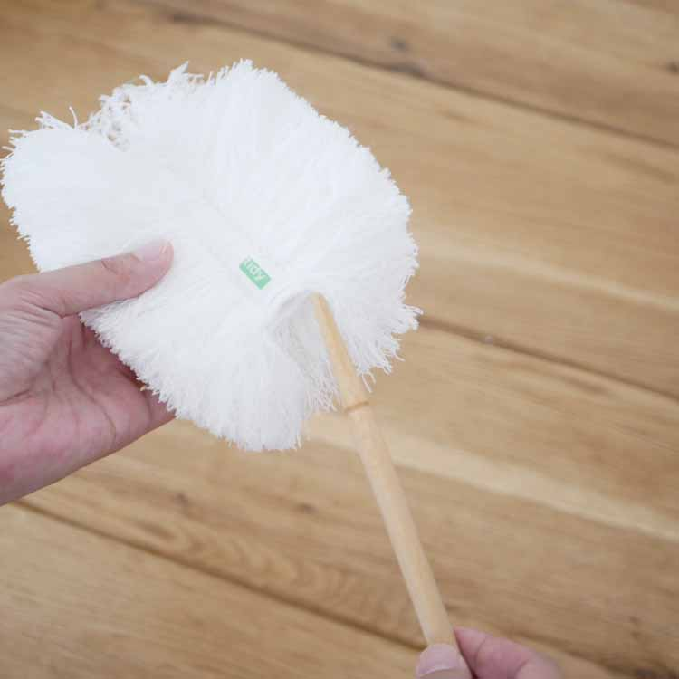 【予約販売10月下旬入荷予定】 【tidy】【tidy】コップ ハンディモップ ホワイト