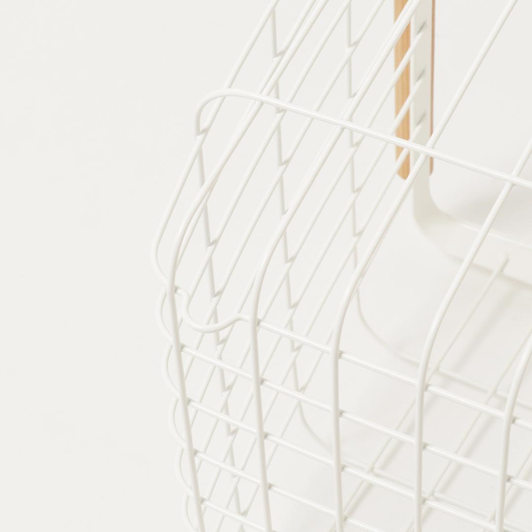 ランドリーバスケット トスカ M ホワイト