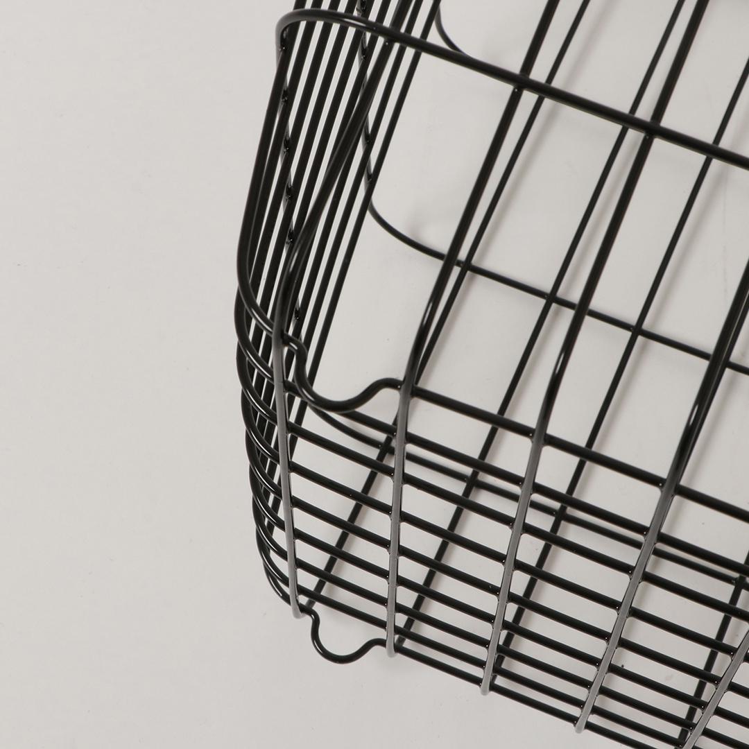 ランドリーワイヤーバスケット タワー M ブラック