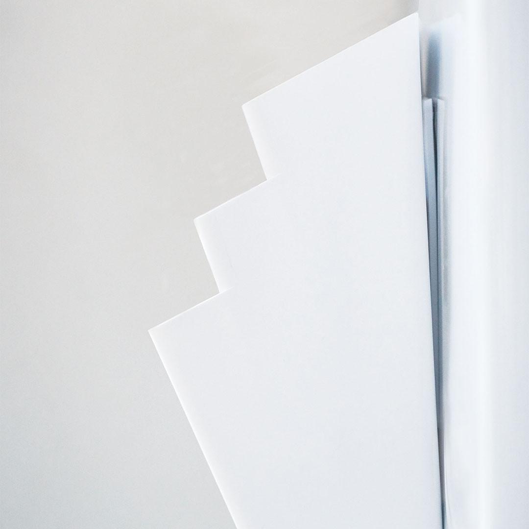 【tower】冷蔵庫横マグネット収納ポケット 3段 タワー ホワイト