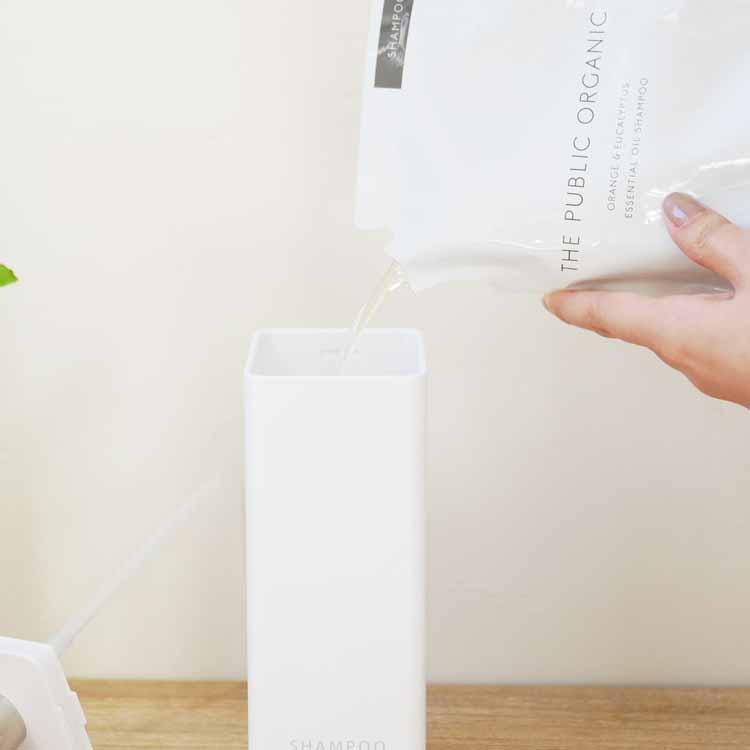 マグネットツーウェイディスペンサー タワー シャンプー ホワイト