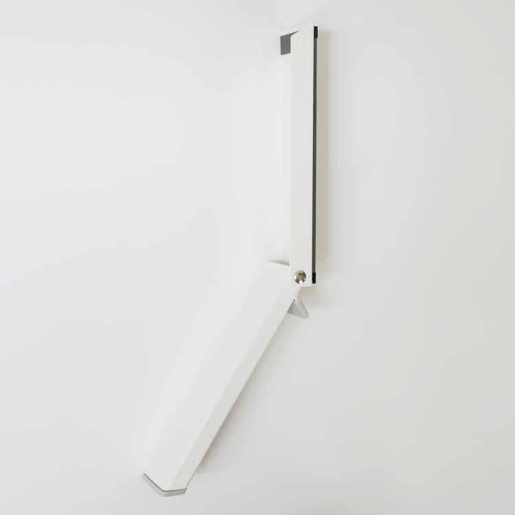 マグネット折り畳みドアストッパー スマート ホワイト