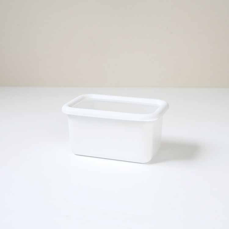 konte 深型角容器 【S】/リリーホワイト KE-DS・LW