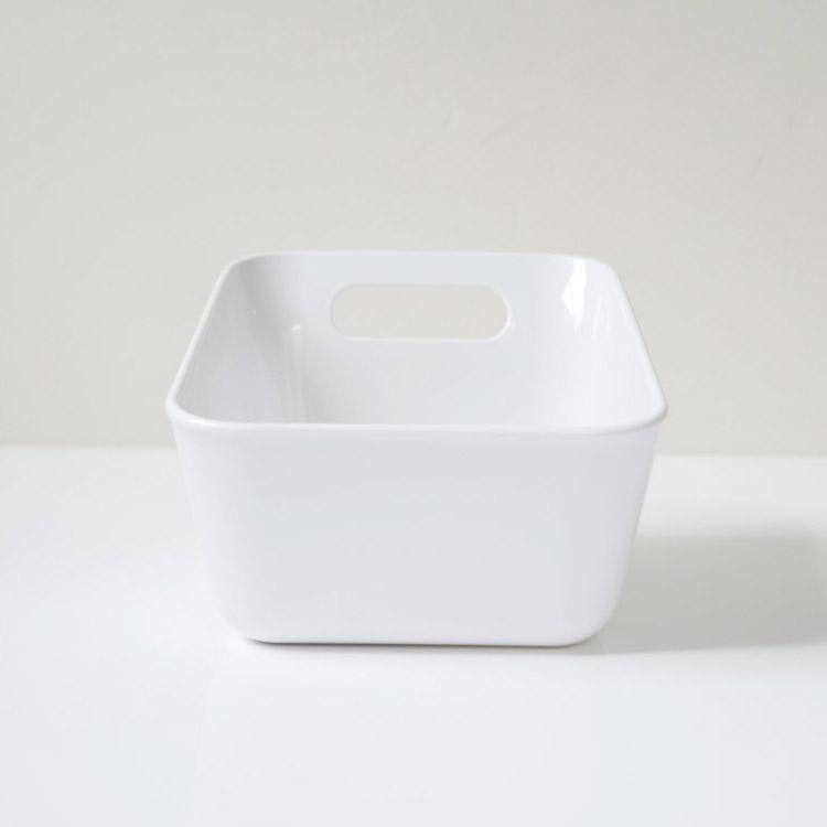 レットー 湯手おけ角 ホワイト