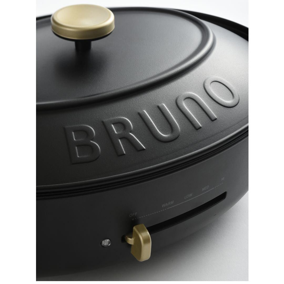 【BRUNO】オーバルホットプレート グレージュ