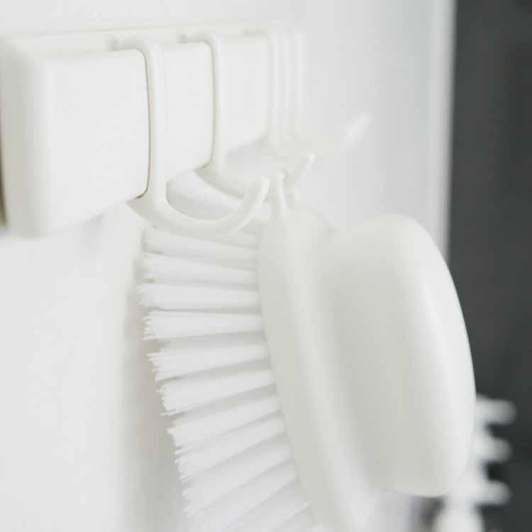 MARNA マグネットフック5連 フック 磁石 ホワイト