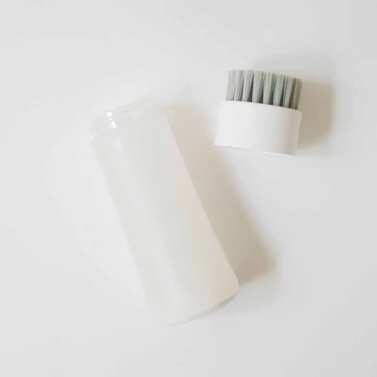 部分洗い洗濯ブラシ (ホワイト) W624
