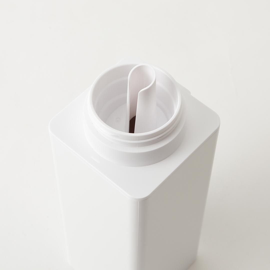 【予約販売1月下旬入荷予定】マグネット詰め替え用ランドリーボトル タワー ホワイト