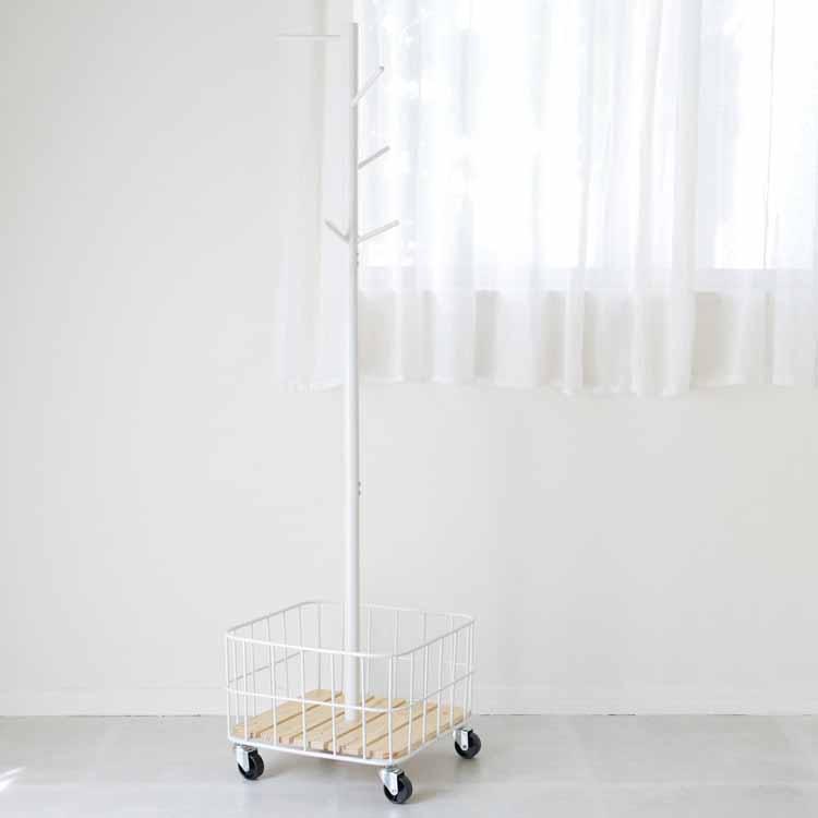 【予約販売7月上旬入荷予定】 バイケージポールハンガー ホワイト