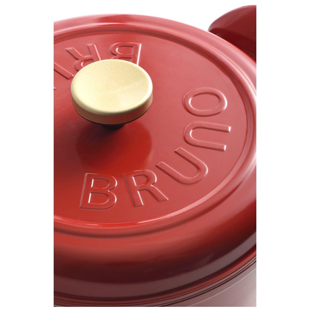 【予約販売10月下旬入荷予定】 【BRUNO】マルチグリルポット レッド