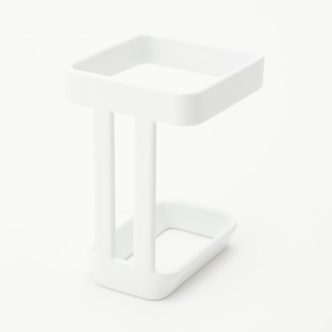 吸盤バスルーム電動シェーバーホルダー タワー ホワイト