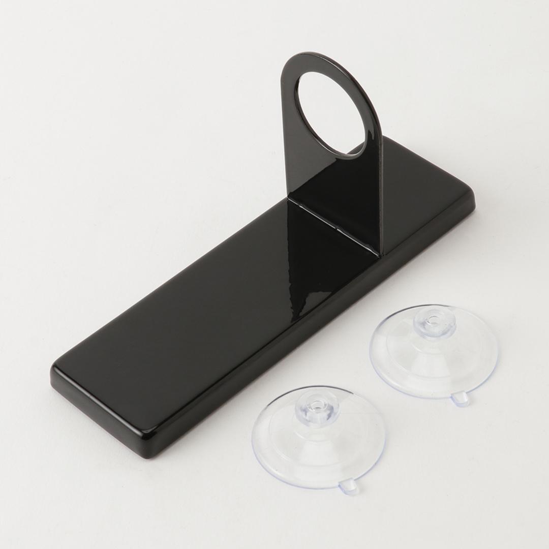 吸盤ディスペンサーホルダー タワー ブラック