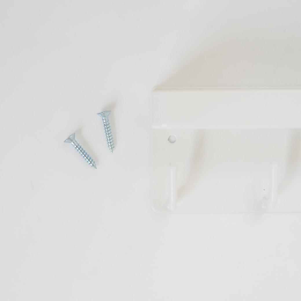 マグネットキーフック&トレイ スマート ホワイト