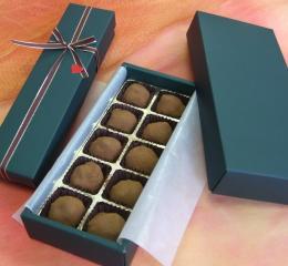 和菓子屋のバレンタイン!一口サイズの可愛いお餅ョコ(おもちょこ)