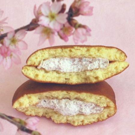 季節限定・桜生どら