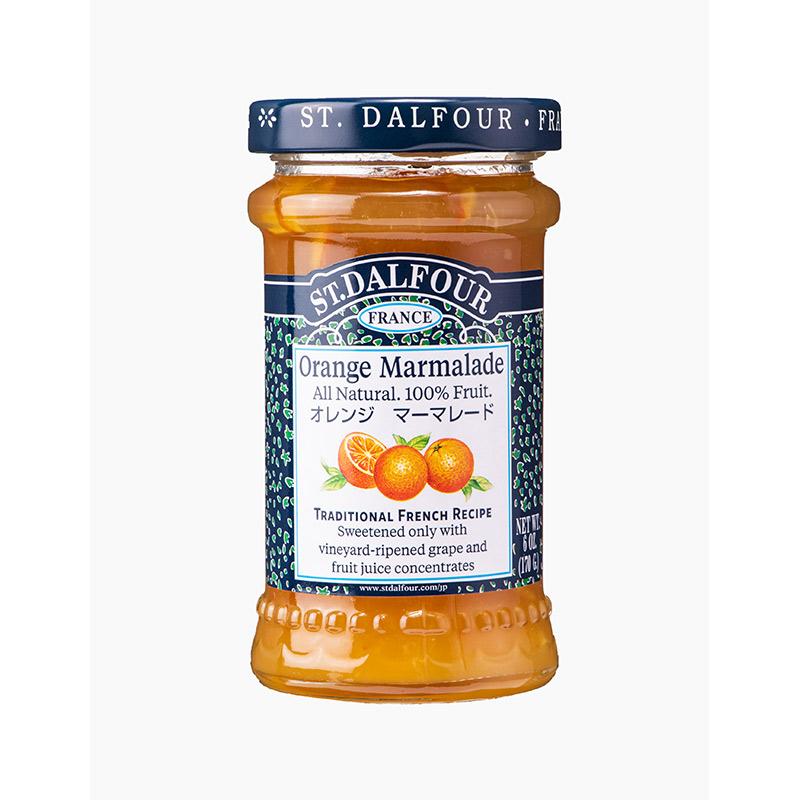 サンダルフォー ジャム オレンジマーマレード 170g ST.DALFOUR フルーツ100% 砂糖不使用 保存料不使用