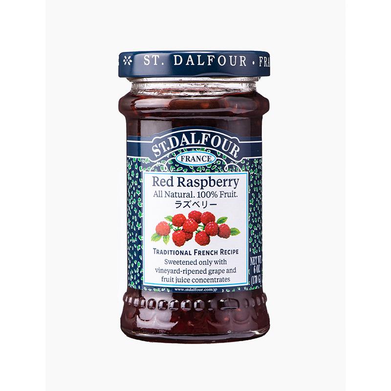 サンダルフォー ジャム ラズベリー 170g ST.DALFOUR フルーツ100% 砂糖不使用 保存料不使用