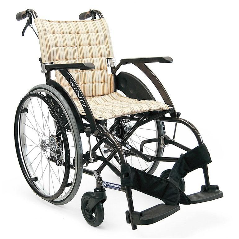 自走用車いす WA22-40(42)S ソフトタイヤ仕様 「WAVIT(ウェイビット)」