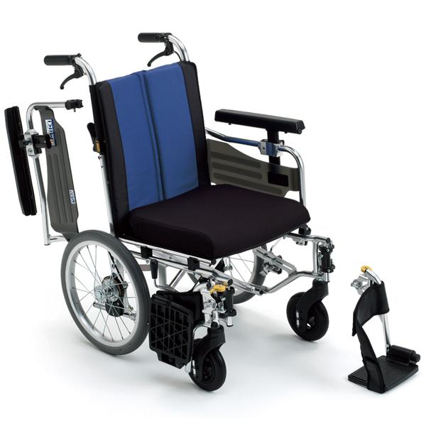 低床型 多機能 介助用車いす BAL-10