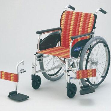 多機能 自走用車いす NA-426FO (前座高42cm・足台スイングアウト・背折れ仕様)