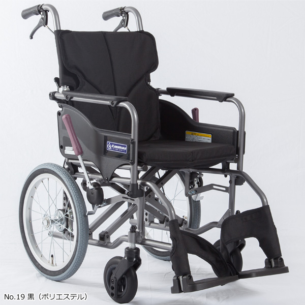 高床型 介助用車いす KMD-A16-40-H[シート幅42cm]
