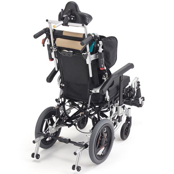 リクライニング&ティルト式 介助用車いす TRC-3DX