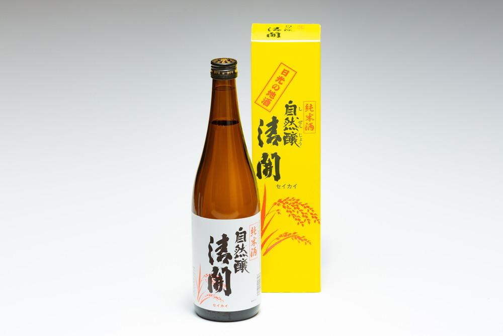 純米酒 自然醸清開 720ml