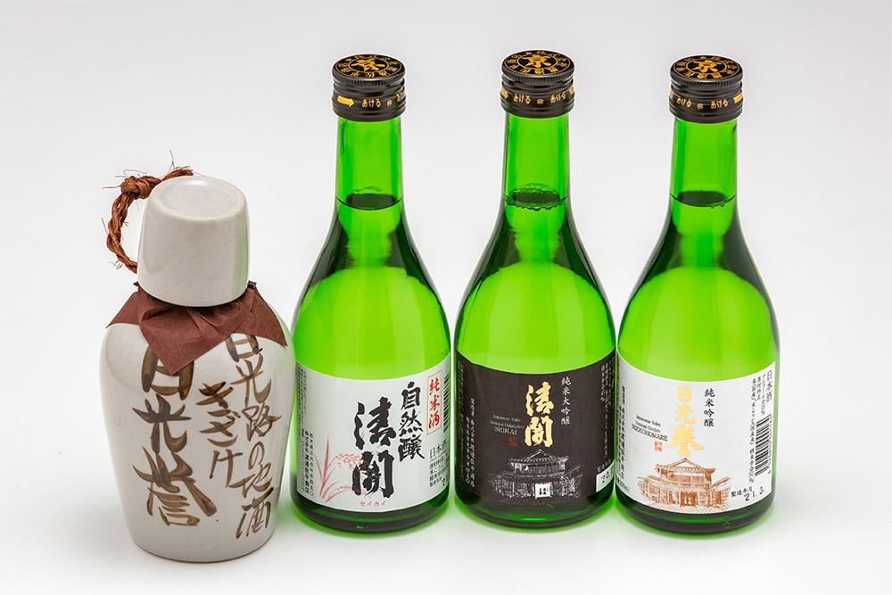 純米酒 自然醸清開 300ml