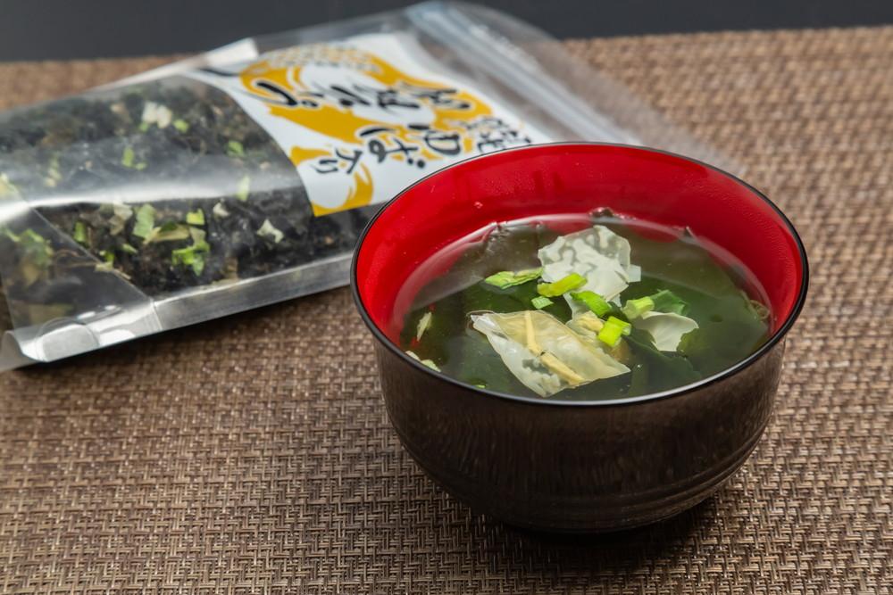ゆば入り和風スープ