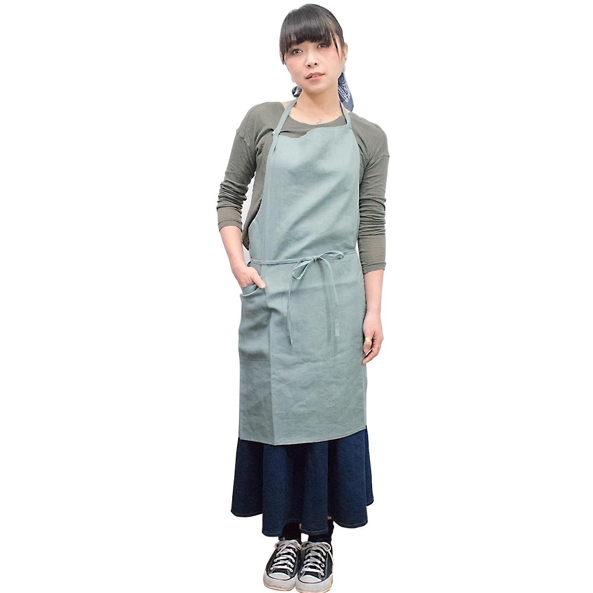 and yuki オリジナル・エプロン(男女兼用)