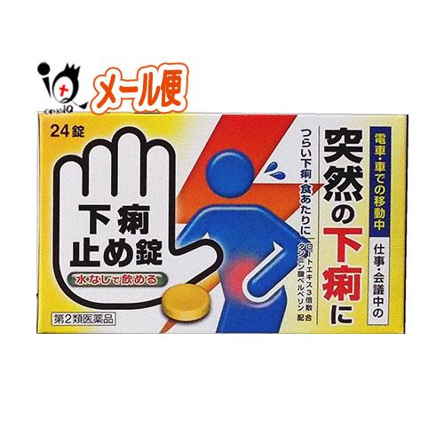 【第2類医薬品】下痢止め錠「クニヒロ」 24錠【皇漢堂製薬】