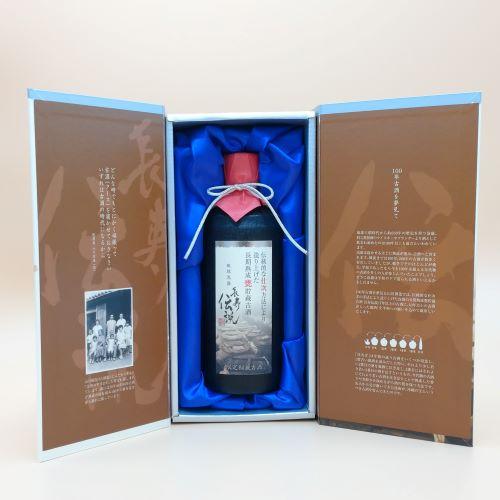 2021年仕次酒【限定25本】長期熟成甕貯蔵古酒 長寿伝説シルバー42度500ml