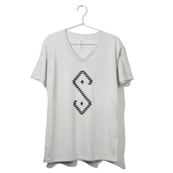 Native Logo T-shirt <OATMEAL>