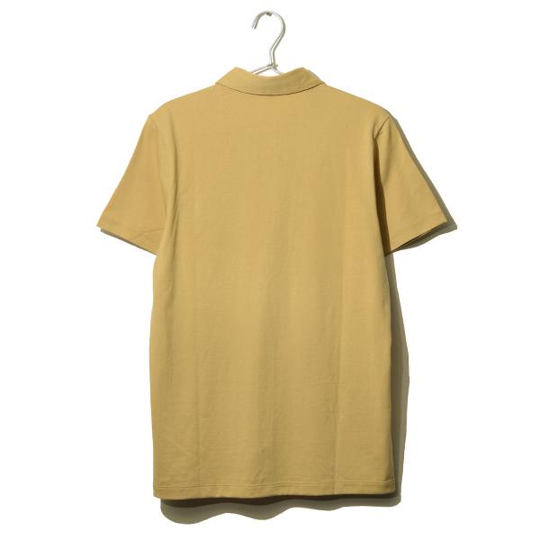 Short-sleeved shirt <YELLOW> Tシャツ素材