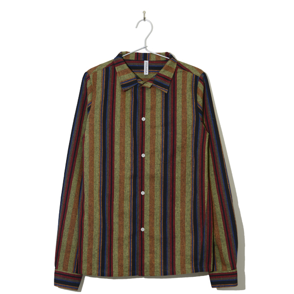 Stripe Shirt KAHKI