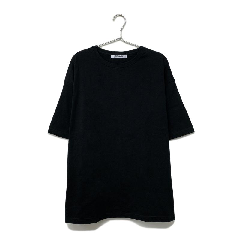 バックプリント Tシャツ【Kemuri】 BLACK