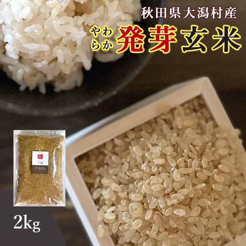 秋田県大潟村産 発芽玄米 2kg