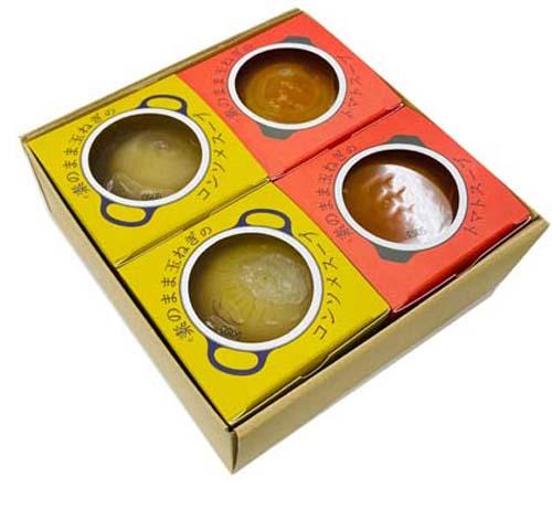 素のまま玉ねぎスープ2種 4個入(42208)