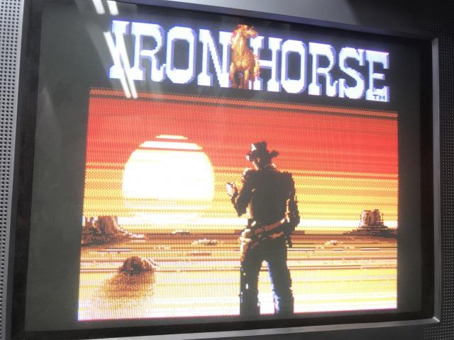 IRON HORSE(大列車強盗 海外版)